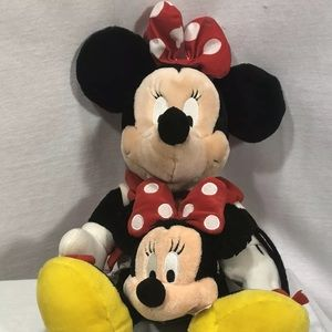 Disney Parks Minnie Mouse Plush and Small Plurse